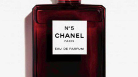 Chanel N°5 slips into red for the holiday season