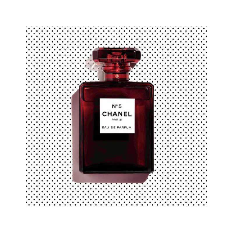 349662a8 Chanel N°5 slips into red for the holiday season - Fashionharp
