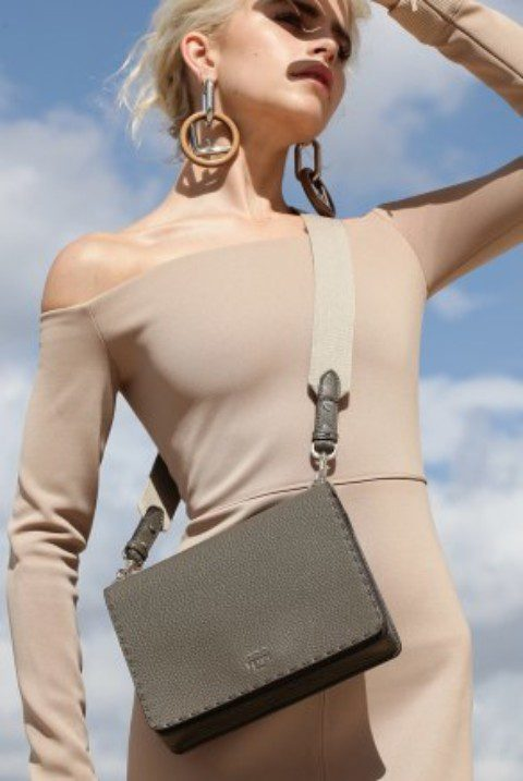 FENDI Launches Roma Selleria Bag Digital Campaign