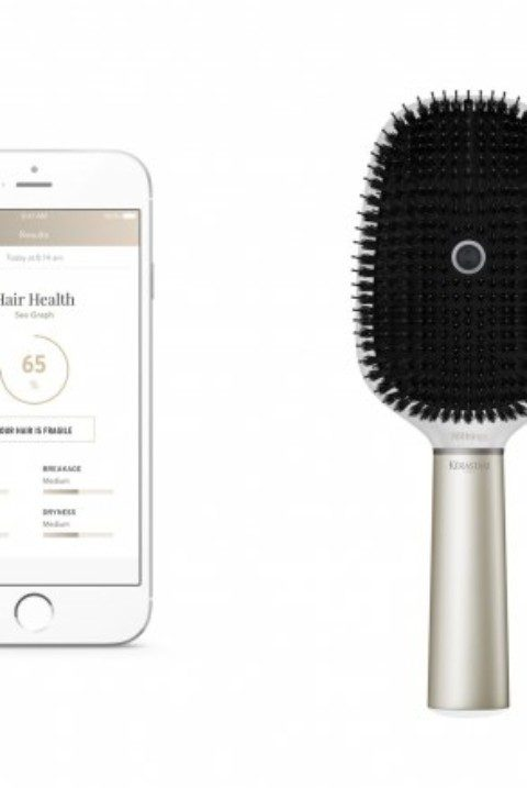 Kérastase Is Launching the First-Ever Smart Hair Brush