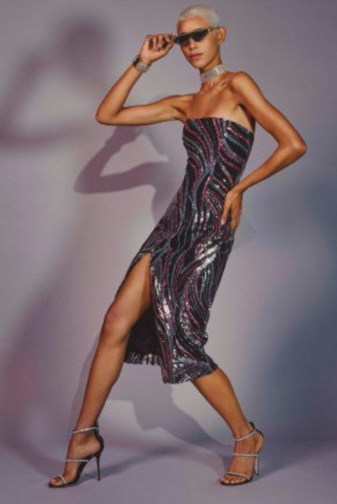 Halpern's Net-A-Porter Partywear Capsule Celebrates All-Out Studio 54 Glamour