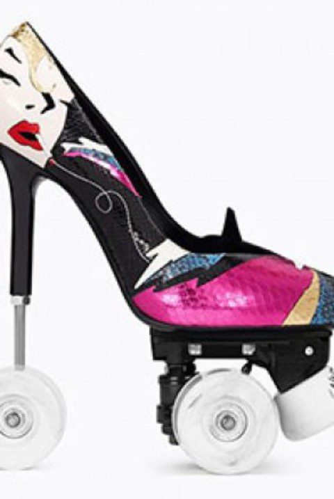 Saint laurent's roller-skate stilettos are the best thing tou'll see all week