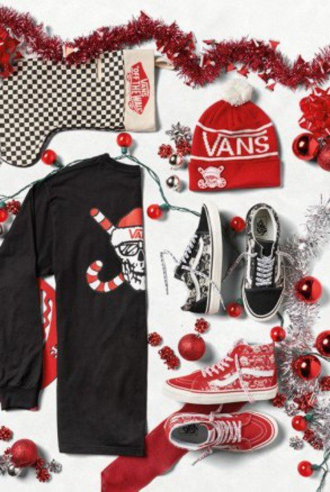 Celebrate christmas whit Vans' holiday collection 2016
