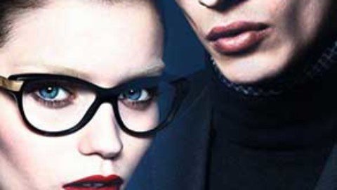 Adrien Sahores & Abbey Lee Kershaw for Gucci  FW1314 by Mert & Marcus