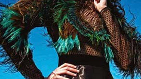 MARIO Sorrenti snaps' extreme' whit saskia de brauw and amanda murphy for vogue paris october 2013