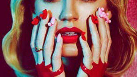 Glamour Italia Beauty editorial whit model Amy Hixson