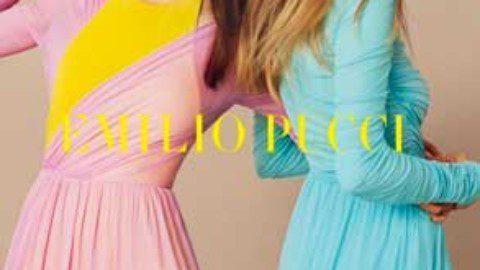 Emilio pucci spotlights bold prints in spring 2017 Campaign