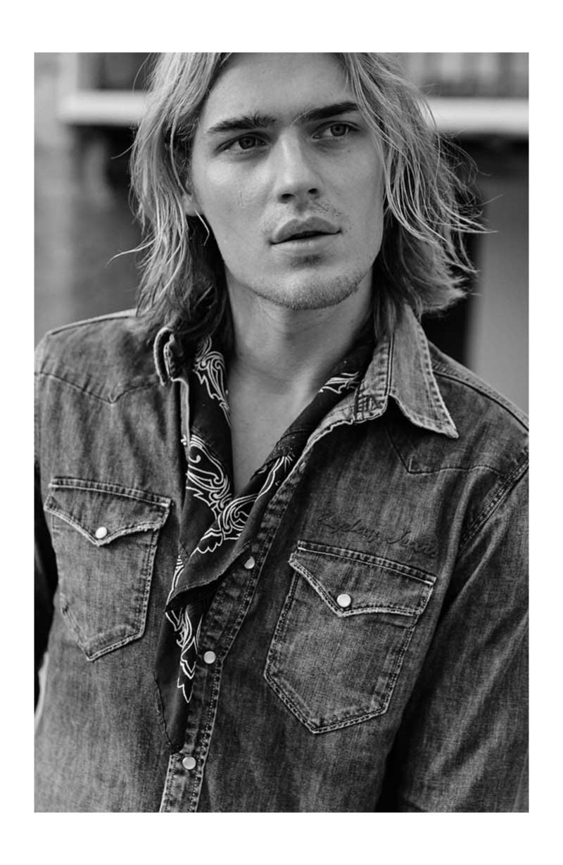 Ton Heukels fronts Replay's spring-summer 2019 campaign.