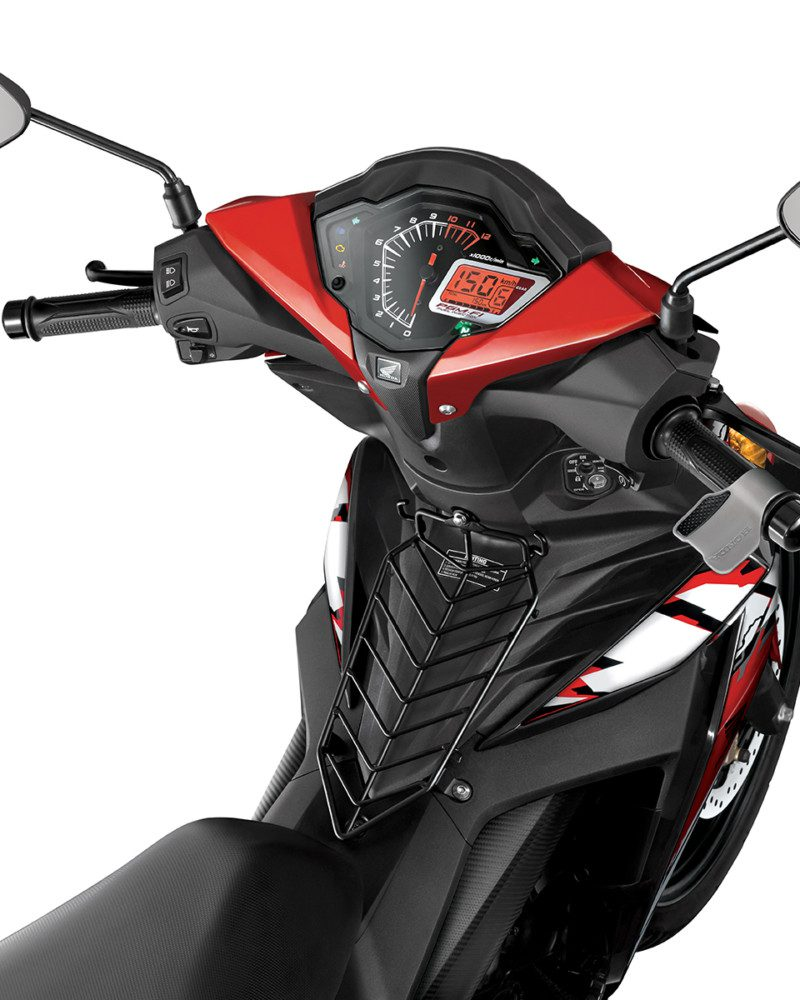 Honda - Supra GTR 150 - Acessories Detail Speedometer FINAL